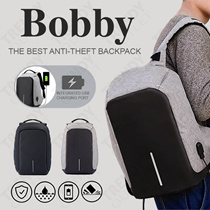 Bobby Backpack | The Best Anti-Theft Backpack | Built in Integrated USB Charger | TrendyOutlet