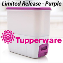 Qoo10 Special ★Authentic TupperWare★ 10Kg Ricesmart *Rice Storage Dispenser * House Warming Gift
