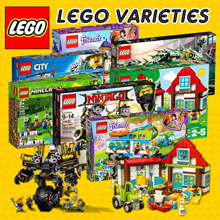Lego Mountain Police Headquarters/ Mias Camper Van/ Friendship House/ Green Ninja Mech