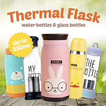 ★[Local Seller/Fast Delivery]★30 Over Designs of Thermal Vacuum Flask/Water Bottles/Glass Bottles