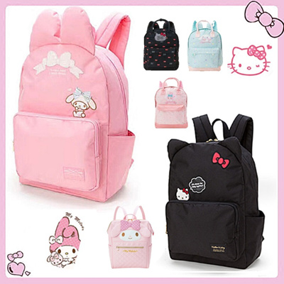 bc77b632c Hello Kitty Melody Cinnamon A4 Size Primary Secondary PreSchool Backpack  Travel School Bag ❤