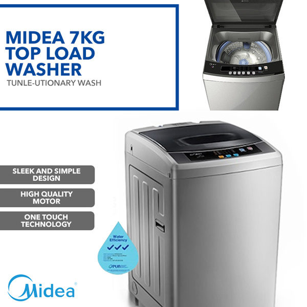 ?Free shipping?NET$179 after coupon!! MT725B Fully Automatic Top Load Washing Machine 7.0kg Deals for only S$459 instead of S$0