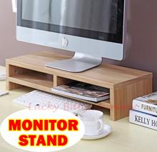 Monitor stand/shelf/dual/keyboard storage/Computer Accessories/Posture Correction/Vertebrae