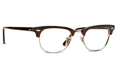 b1b450b1f3 Qoo10 - Ray Ban RX5154 Clubmaster Eyeglasses-2372 Red Havana-49mm ...