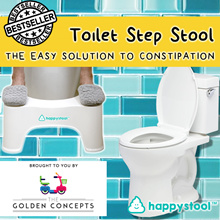 ◀ THE GOLDEN CONCEPTS ► RESTOCK!! ◀ HappyStool Toilet Step Stool ★ Easy Way To Relieve Constipation