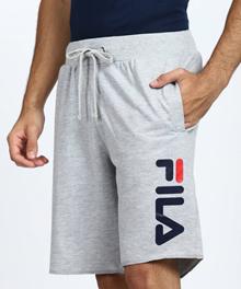 Fila Striped Mens Red White Blue Sports Shorts
