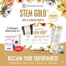 [NEW LAUNCH]💎Kinohimitsu StemGold+ 30s x 2 ( 2 MTHS SUPPLY)💎 + Free Bestseller Collagen Diamond 3s