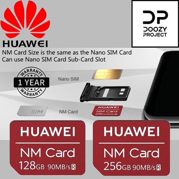 Huawei Nano Memory card kartu NM / 90MB / s 128GB / 256GB Lokal Garansi 1 Tahun Cocok untuk Huawei Mate 20 Deals for only Rp800.900 instead of Rp1.251.410