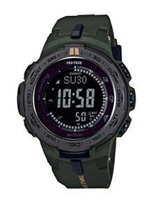 Casio Mens PRO TREK Quartz Resin Casual Watch