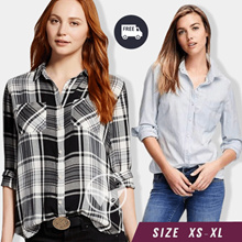 Women Shirt Collection_Women Office Blouse_7 Styles_Fashion And Apparel_Casual Shirt