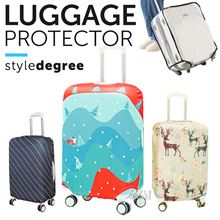 ✈️ LUGGAGE PROTECTIVE COVER CASE ★Clear Transparent Case sleeve protector organiser organizer travel
