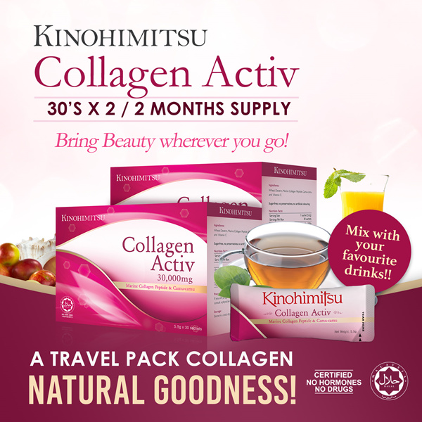 [2MTH SUPPLY] Collagen Activ Powder 30sx2 Deals for only S$119.7 instead of S$119.7