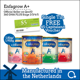 [Enfagrow A+] [Single tin] Stage 2/3/4/5 1.8kg | Made in Netherlands |