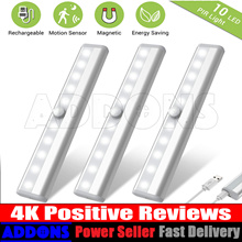 【BUY 3 = $6 OFF】Wireless Motion Sensor LED Light ★ Battery ★ kitchen ★ bed room with Warranty