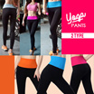 【Special Promo】2016✫ Sports Wear Women Sport Trousers Yoga Pants/ 7 points jogging sports pants ★ 2 Type ★ ✫✫BUY 6 FREE SHIPPING✫✫