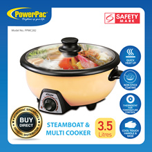 PowerPac Steamboat 3.5L Multi Cooker Pot (PPMC282)