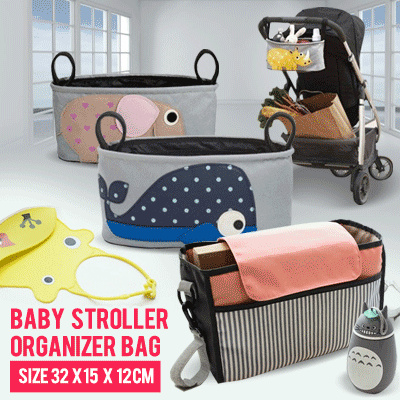 BABY STROLLER ORGANIZER BAG Deals for only Rp69.000 instead of Rp69.000