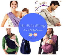 The Baba Sling Infant Newborn Baby Carrier | 5 in 1 Baby Carrier