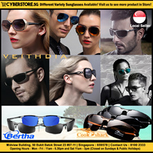 Veithdia Cook Shark Bertha Sunglasses for both Men and Women - Polarised and UV400 Protected