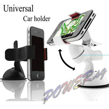 Premium One Hand Mobile Car Windscreen Suction Mount Holder Cradle Charger Dock iPhone 6 Plus 6+ 5 5S 5C Samsung Galaxy Note 3 4 S4 S5