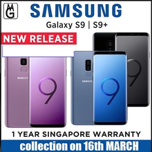 Samsung Galaxy S9 / S9 PLUS | 1 Year local Samsung warranty. Super Camera. Case included