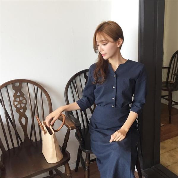 マーク、マックス・アリワンピースnew ロング/マキシワンピース/ワンピース/韓国ファッション