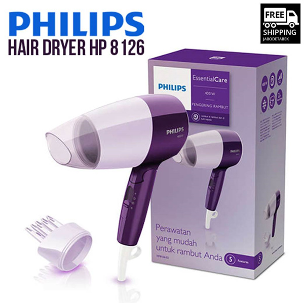 Philips Hair Driyer HP 8126 Deals for only Rp245.000 instead of Rp245.000