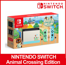 Nintendo Switch Console Animal Crossing Edition Apply / Ready Stock