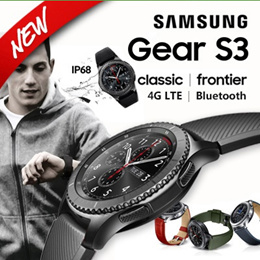 ★The Lowest!!!★SAMSUNG GALAXY GEAR S3 CLASSIC SM-R770 / Frontier SM-R760/SmartWatch
