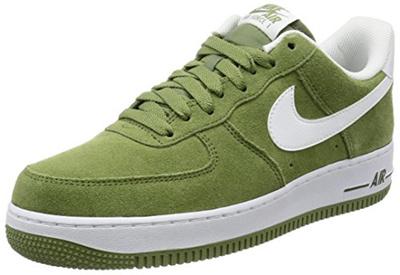 Qoo10 NIKE Nike Mens Air Force 1 Low 07 Basketball Shoe Palm Green