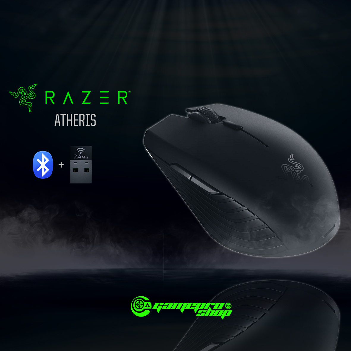 RazerRazer Atheris Gaming Wireless Bluetooth Mouse