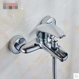 Bathroom Mixer Bathtub Faucet Set Copper Hot  Cold Shower Shower Faucet