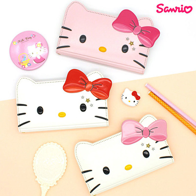 75385ccfb Qoo10 - ☆Authentic☆Hello Kitty Star Face Flip Cover Case☆Galaxy ...