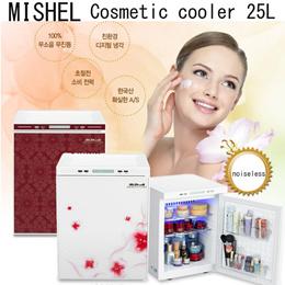 [EMS FREE] Mishell Cosmetics cooler Fridge Makeup Storage case Refrigerator 20~25 liter Mini