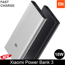 100% AUTHENTIC / Xiaomi Power Bank 2 / 3 (5000mAh 10000mAh)  w/ 2-way USB-C 18W fast charge