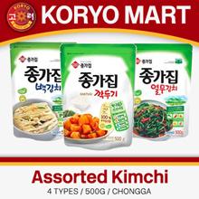 Jongga Assorted Kimchi / 6 types / 500g
