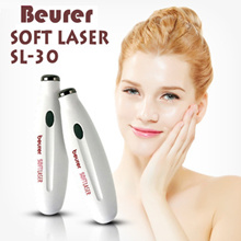 Germany Beurer SOFTLASER SL-30 SKIN CARE/SOFT LASER Acne Therapy WRINKLES/Red Infrared/Aacne Pimples