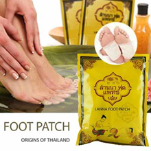🔥🔥BUY 5 GET 1 FREE 🔥🔥Lowest on Qoo10 Original Thailand Lanna Foot Patch 10pcs/pack