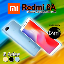 XIAOMI REDMI 6A 2/16 - GARANSI RESMI TAM | Available 3 Color