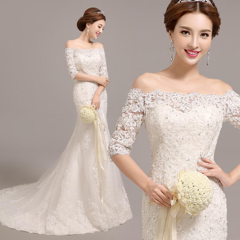 Qoo10 Wedding Gown Womens Clothing - Korean Wedding Dress