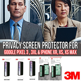 3M™ Privacy Screen Protector for Apple and Google Smartphone (PRE Order)