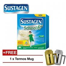 2 x SUSTAGEN 1.2kg School 6+ For 6 Years Above - Vanilla [Free Termos Mug]
