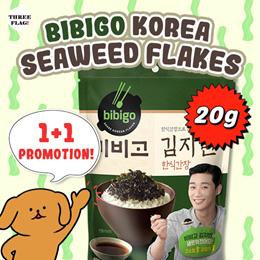 CJ Bibigo Korea Seaweed Flakes 20g Buy 1 Get free 1 Promotion