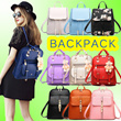 **BACKPACK **New Fashion❤Rucksack・Shoulder Bags❤PU BACKPACK / Mummy Bag / Unisex Casual Bag / Student Bag / FREE GIFT Bags Collection SJB1606