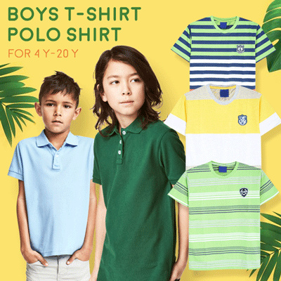 Anak Laki Kaos Polo Shirt Junior Deals for only Rp45.000 instead of Rp45.000