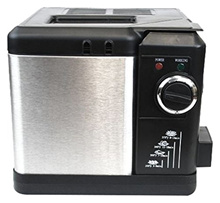 Nesco DF-25 Deep Fryer, 2.5 L, Stainless Steel