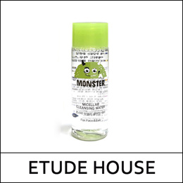 [ETUDE HOUSE] Monster Micellar Cleansing Water Sample (25ml + Cotton pad 8ea) * 2 set