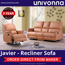 RECLINER SOFA - JAVIER/ ARMCHAIR RECLINER * 2-SEATER WITH RECLINERS * 3-SEATER WITH RECLINERS