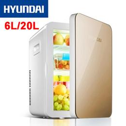 HYUNDAI★ Home Use / Car Portable Fridge Refrigerator 6L/20L Car refrigerator Mini Small Refrigerator