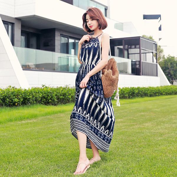 私の心を盗んでワンピースnew ノースリーブ/トップワンピース/ワンピース/韓国ファッション